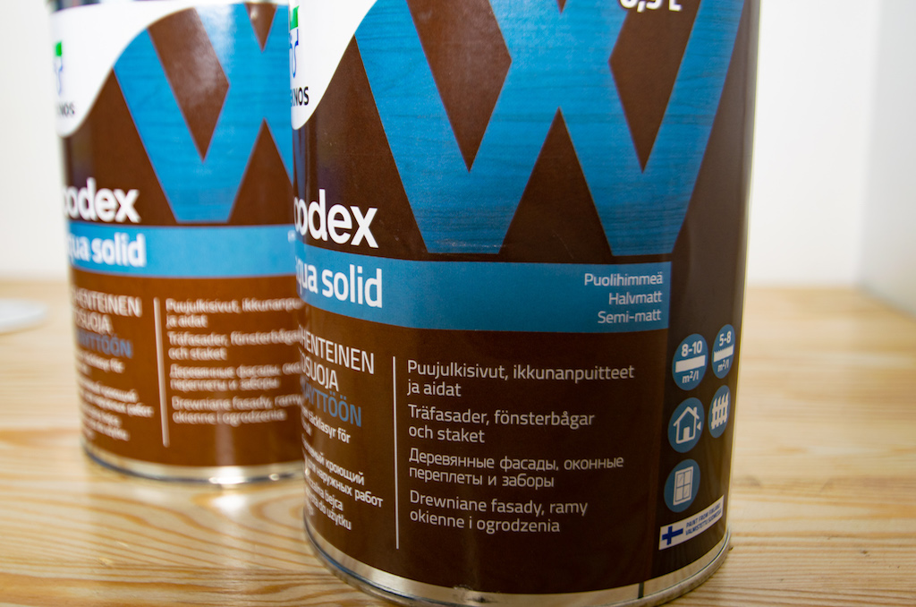 woodex aqua solid от teknos