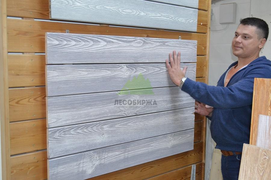 Глубокое браширование деревянных панелей