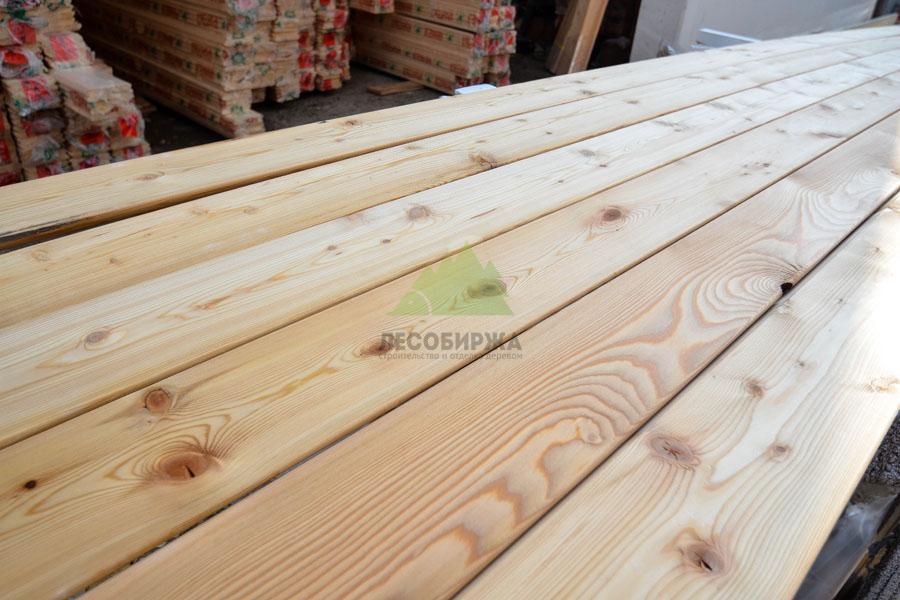 Обычная древесина планкена из лиственницы